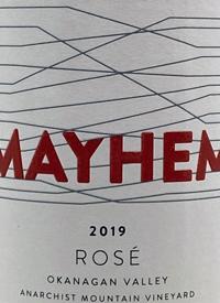 Mayhem Rosétext