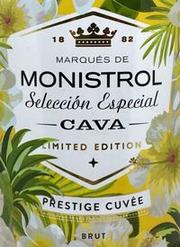 Marqués de Monistrol Seleccion Especial Cava Prestige Cuvée White Flower Bottletext