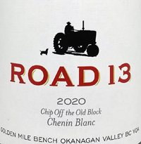 Road 13 Chip Off The Old Block Chenin Blanctext