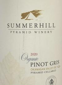 Summerhill Pyramid Winery Organic Pinot Gristext