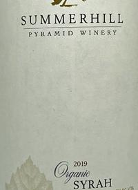 Summerhill Pyramid Winery Organic Syrahtext