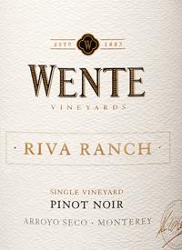 Wente Riva Ranch Single Vineyard Pinot Noirtext