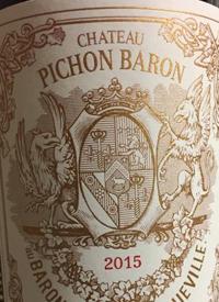Château Pichon-Longueville Baron Pauillactext