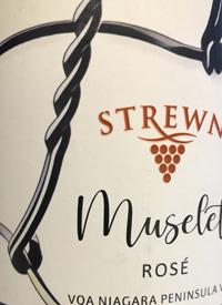 Strewn Winery Muselet Rosétext