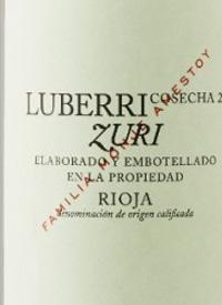 Luberri Zuri Blancotext