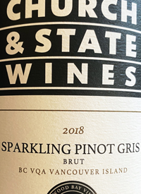 Church & State Wines Sparkling Pinot Gristext