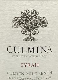 Culmina Family Estate Syrahtext
