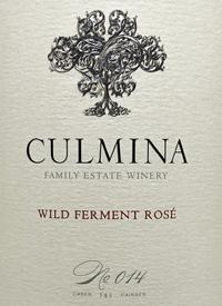 Culmina Family Estate Wild Ferment Rosé No. 014text