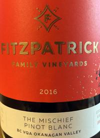 Fitzpatrick Family Vineyards The Mischief Pinot Blanctext