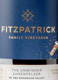 Fitzpatrick Family Vineyards The Unwinder Ehrenfelsertext