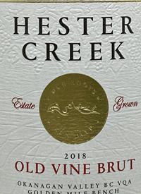 Hester Creek Old Vine Bruttext
