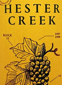 Hester Creek Sémillontext