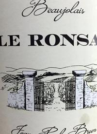 Jean-Paul Brun Le Ronsay Beaujolaistext