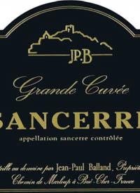Jean Paul Balland Sancerre Grande Cuvéetext