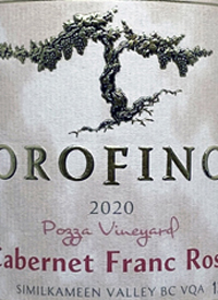 Orofino Vineyards Cabernet Franc Rosètext