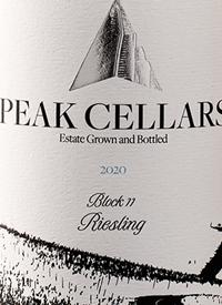 Peak Cellars Block 11 Rieslingtext