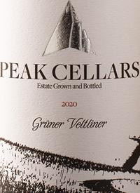 Peak Cellars Grüner Veltlinertext