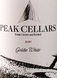 Peak Cellars Goldie Whitetext