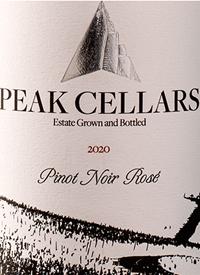 Peak Cellars Pinot Noir Rosétext