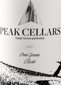 Peak Cellars Pink Granite Rosétext