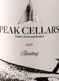 Peak Cellars Rieslingtext