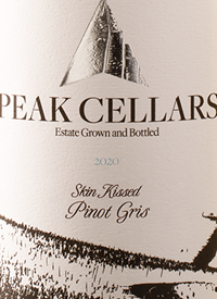 Peak Cellars Skin Kissed Pinot Gristext