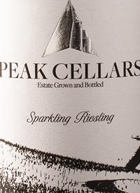 Peak Cellars Sparkling Rieslingtext