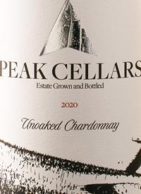 Peak Cellars Unoaked Chardonnaytext