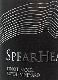 Spearhead Pinot Noir Coyote Vineyardtext
