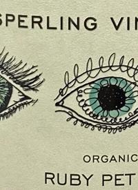 Sperling Vineyards Organic Ruby Pét Nattext