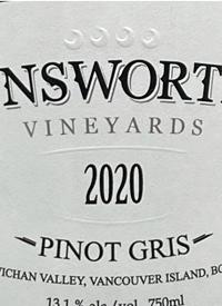 Unsworth Vineyards Pinot Gristext