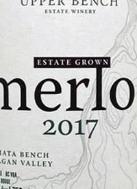 Upper Bench Merlot Estate Growntext