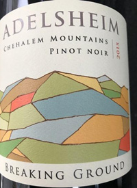 Adelsheim Vineyard Breaking Ground Pinot Noirtext