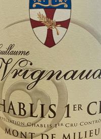 Guillaume Vrignaud Chablis 1er Cru Mont de Milieutext