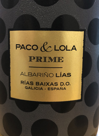 Paco & Lola Prime Albariñotext
