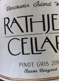 Rathjen Cellars Pinot Gristext