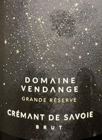 Domaine Vendange Grande Reserve Crémant de Savoie Bruttext