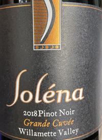 Soléna Grand Cuvée Pinot Noirtext