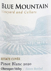 Blue Mountain Estate Cuvée Pinot Blanctext