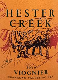 Hester Creek Viognier Stone's Throw Vineyardtext