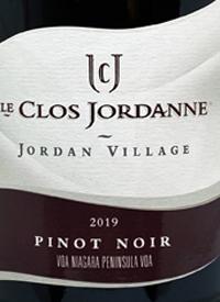 Le Clos Jordanne Jordan Village Pinot Noirtext