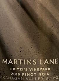 Martin's Lane Fritzi's Vineyard Pinot Noirtext