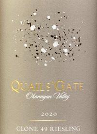 Quails' Gate Clone 49 Rieslingtext