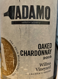 Adamo Oaked Chardonnaytext
