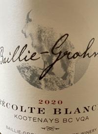 Baillie-Grohman Récolte Blanchetext