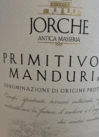 Jorche Primitivo di Manduriatext