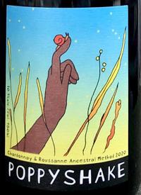Poppyshake Chardonnay and Roussanne Ancestral Methodtext
