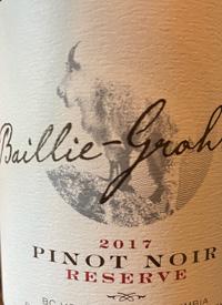 Baillie-Grohman Pinot Noir Reservetext