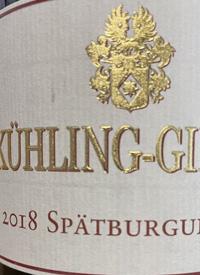 Kühling-Gillot Spätburgundertext