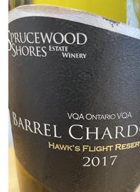 Sprucewood Shores Hawk's Flight Reserve Barrel Chardonnaytext